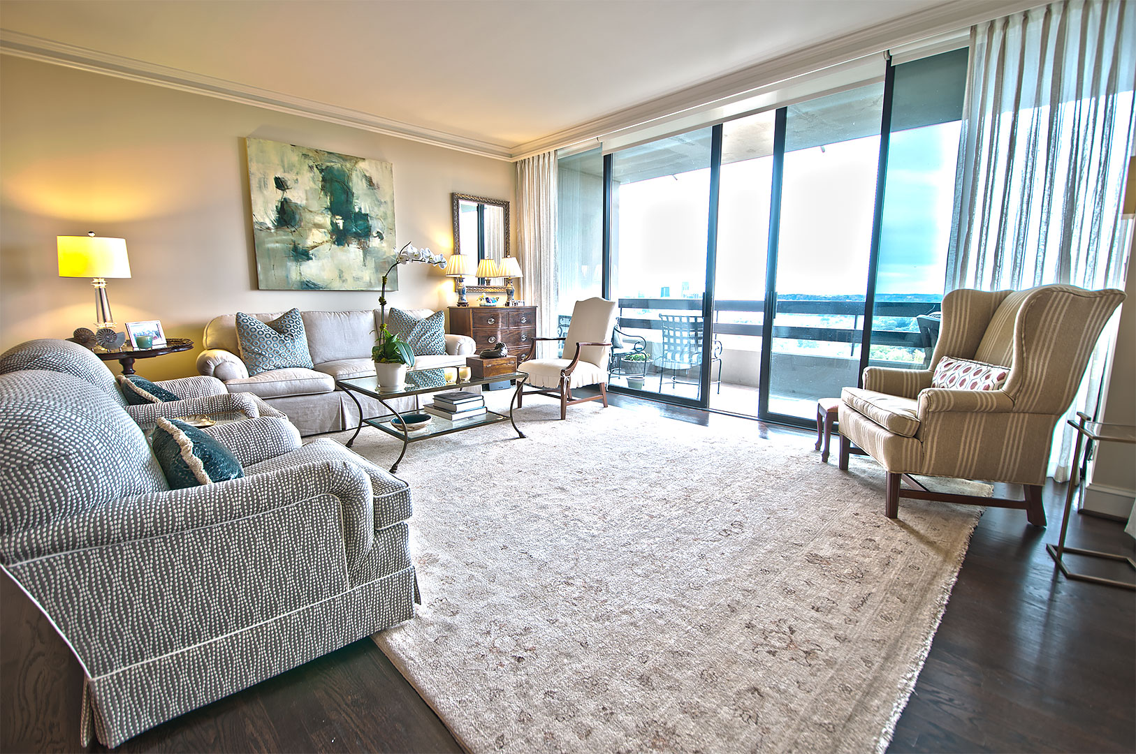 Living Spaces | Peachtree Construction and Renovations